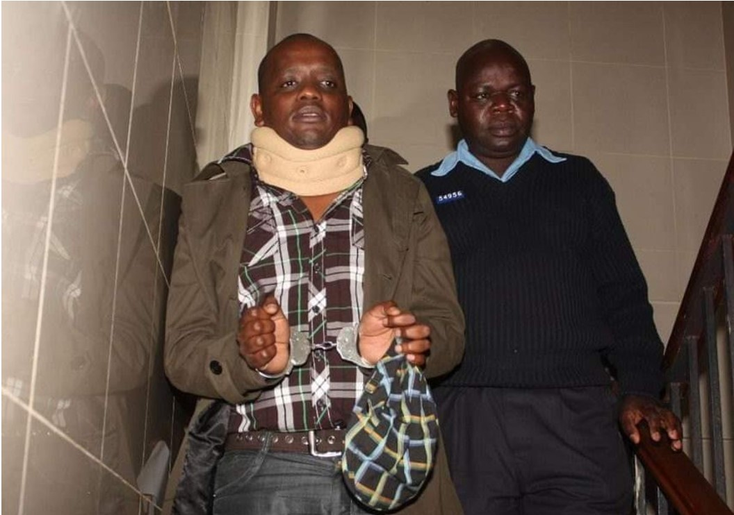 Former Digital Communications Director at the Presidential Strategic Communications Unit Dennis Itumbi when he was arrested in 2012 over claims he hacked into the International Criminal Court's (ICC) website.