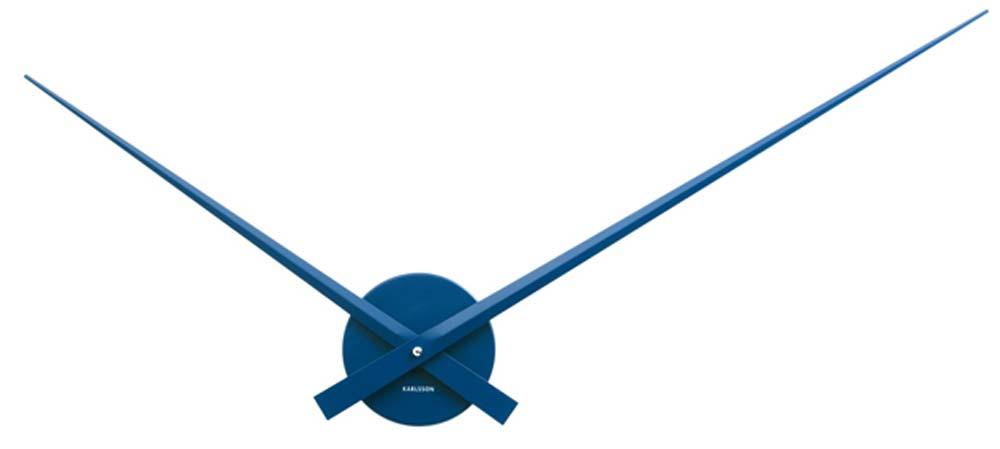 Karlsson-Wanduhr-blau