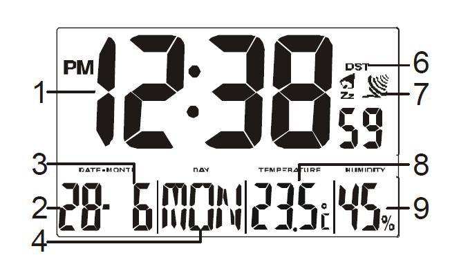 Uhr Modus 5895