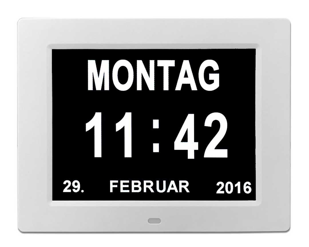 Zwischen 19:00 Und 07:00 Uhr Stellt Sich Die Wanduhr Automatisch In Einen  Leisen Betrieb Um U2013 Ideal Zur Schlafzimmer Nutzung.