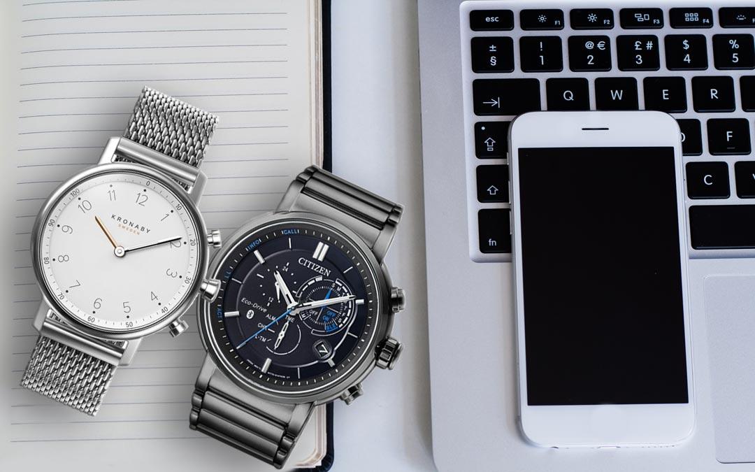 Kronaby und Citizen Smartwatches im Vergleich