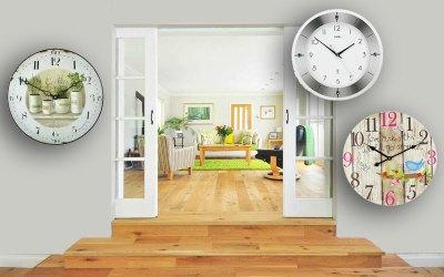 Warum Wohnzimmer Wanduhren online kaufen?