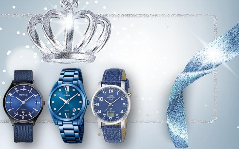 Armbanduhren passend zur royalblauen Hochzeit!