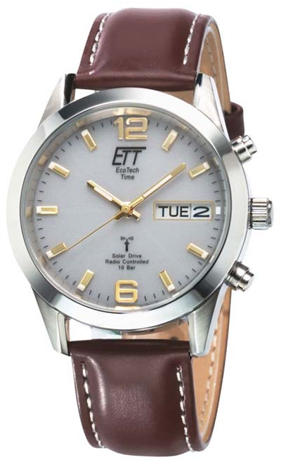 Eco Tech Time EGS-11248-12L Funk-Solaruhr
