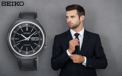 Ein Business-Look mit der Seiko SRPC15K1