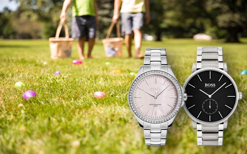 Eine Armbanduhr zu Ostern verschenken!