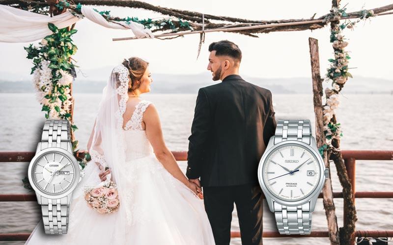 Passende Armbanduhren für Verlobung und Hochzeit