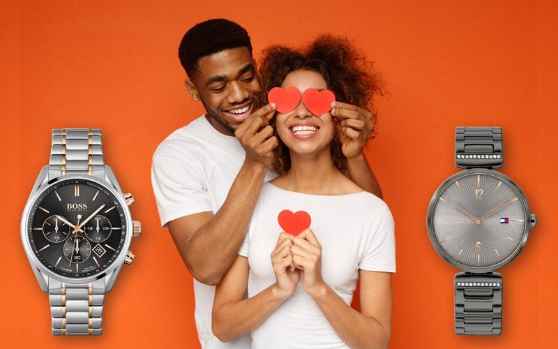 Armbanduhren zum Valentinstag verschenken