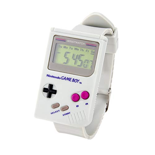 Paladone Nintendo GameBoyTM Digitaluhr – Offizielle Super Mario Land TM Alarm Sound & eingebaute LED Kultiges Design, tolles Retro-Spielgeschenk.