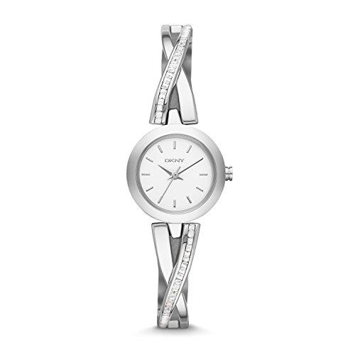 DKNY Damen-Armbanduhr XS Analog Quarz Edelstahl NY2173