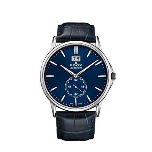 EDOX Herren-Armbanduhr 64012-3-BUIN