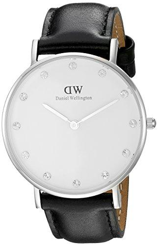 Daniel Wellington Classy Damen-Armbanduhr Analog Quarz Leder - DW00100080