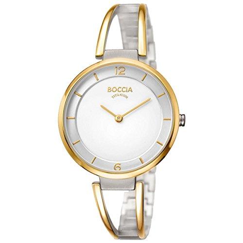Boccia Damen-Armbanduhr 3260-02