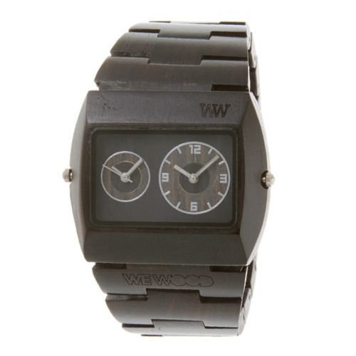 Wewood Herren-Armbanduhr Jupiter Analog Quarz One Size, schwarz, schwarz