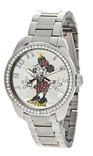 Ingersoll Mädchen-Armbanduhr 26165, Analog, silber, mit Disney-Motiv
