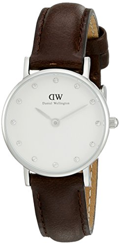 Daniel Wellington Classy Damen-Armbanduhr Analog Quarz Leder - DW00100070