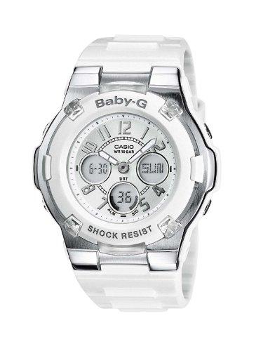 Casio Baby-G – Damen-Armbanduhr mit Analog/Digital-Display und Resin-Armband – BGA-110-7BER