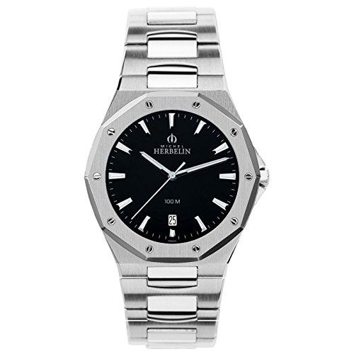 Michel Herbelin Unisex Erwachsene-Armbanduhr 12231/B14