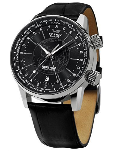 Vostok Europe World Timer Automatikuhr 5605239