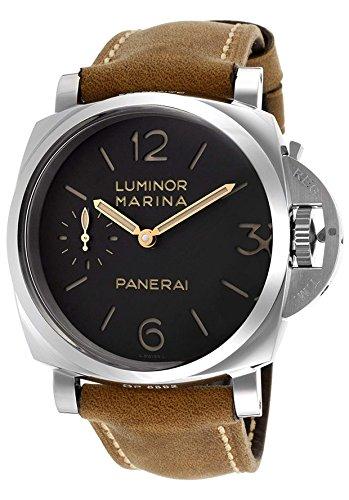 PANERAI LUMINOR Marina 1950 Herren-Armbanduhr 47MM Leder HANDAUFZUG PAM00422