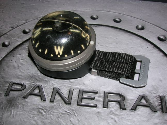 Historischer Panerai Kompass