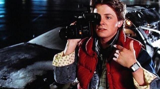 Casio Taschenrechner Uhr, getragen im Kultfilm Zurück in die Zukunft