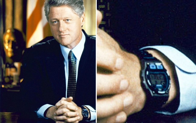 timex ironman bill clinton