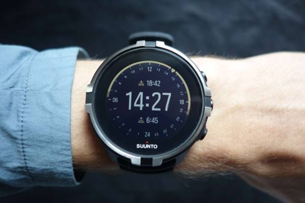 "Suunto Spartan Sport WHR Baro ""Stealth"" with Outdoor Watchface"