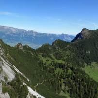 Von Gafleisattel zu Alpspitz (mit Abzweigung/Weg zu den Drei Schwestern)