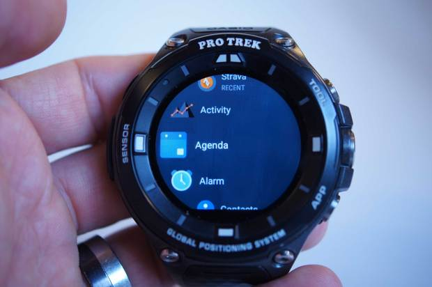 Android Wear App Launcher, Casio ProTrek Smart
