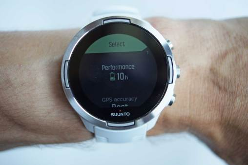 Suunto9 Performance Mode Display