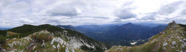 View from the Dachsteinblick