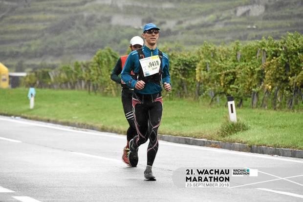 Wachau-Marathon: Road and Rain