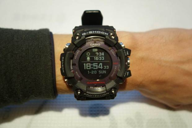Rangeman with Sunrise-/Set Display - and one can see the 'solar module' around the display