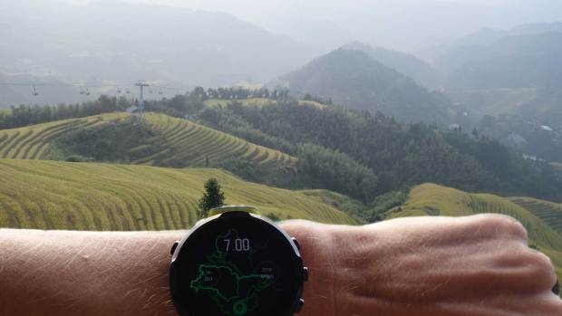 Suunto 7 (on beta software) in China