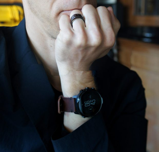 Oura Ring and Suunto 7