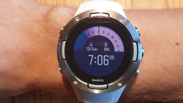 Suunto 5, New Outdoor Watchface, Second Screen, Daytime