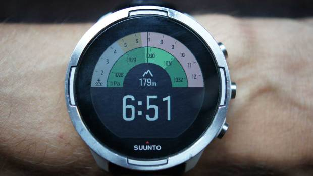 Suunto 9 Baro, New Outdoor Watchface, First Screen