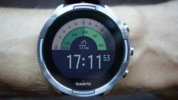 Suunto 9 Baro, New Outdoor Watchface, Active First Screen