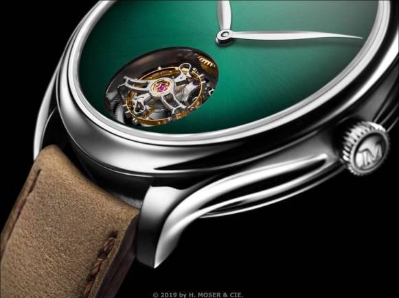 H. Moser & Cie. > Endeavour Tourbillon Concept Cosmic Green