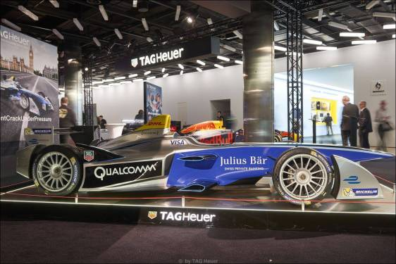 87. Automobil-Salon Genf: Sonderausstellung TAG Heuer