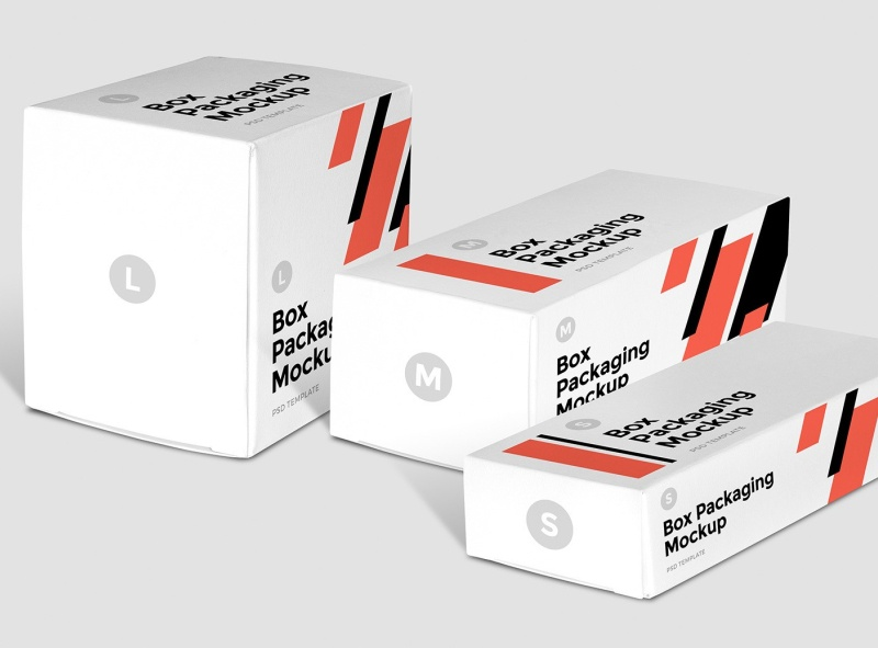 Download Free Small Box Packaging Mockup | free psd | UI Download