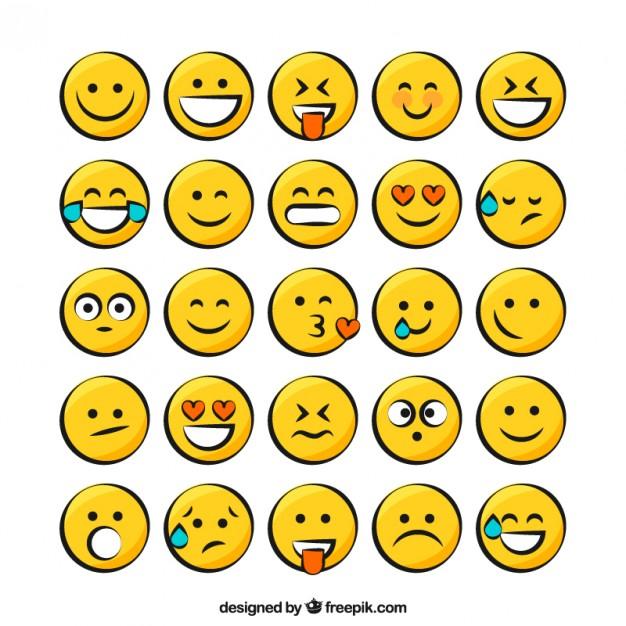 Yellow Smiley Pack Free Vectors Ui Download