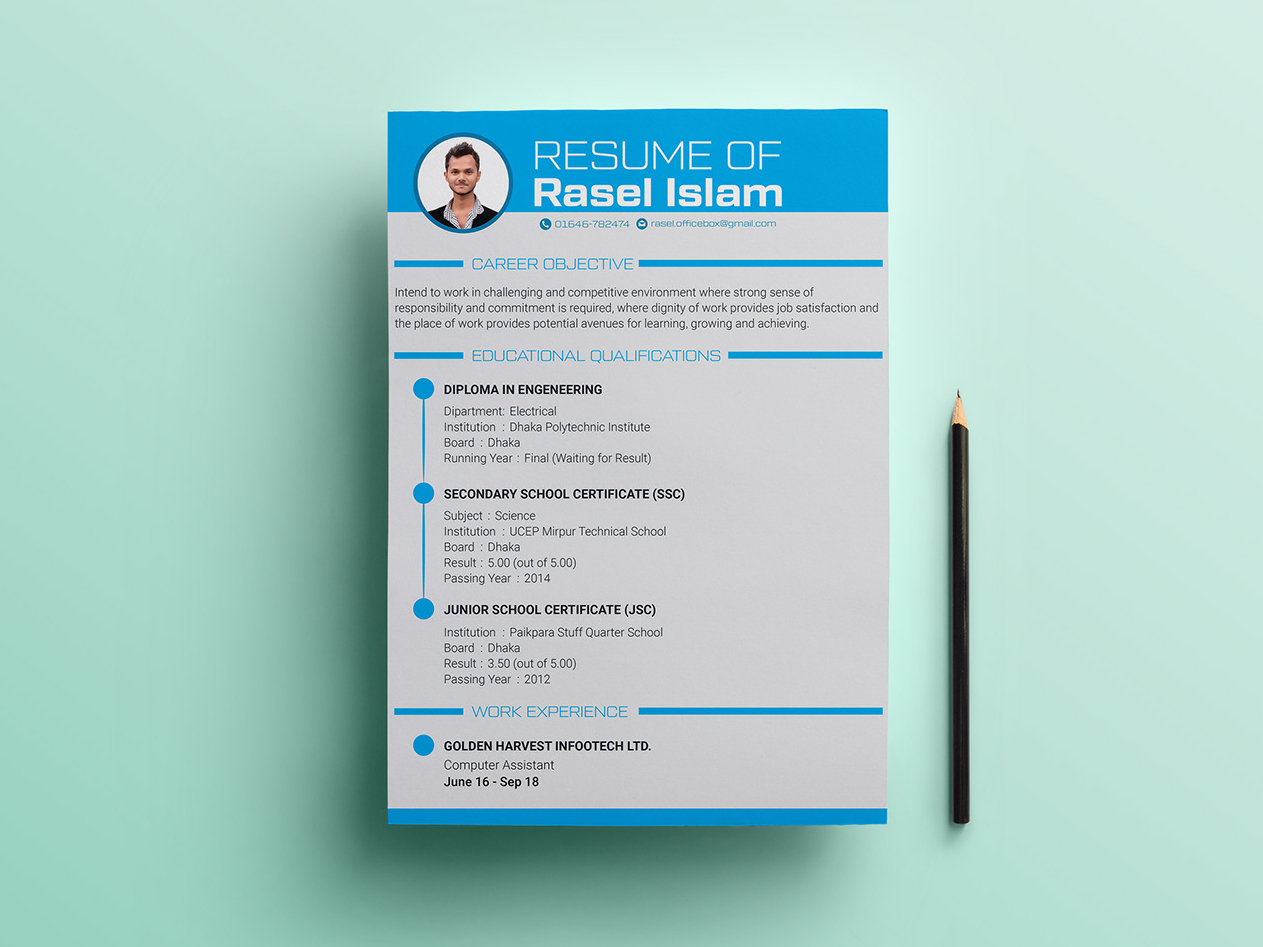 Free Engineering Resume Template Free Download Discover The