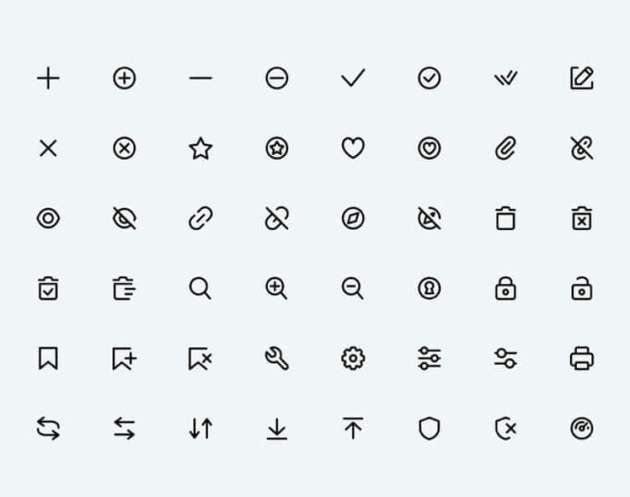 28 Super Basic Icons- uifreebies.net