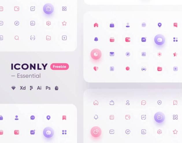 Iconly – Essential icons - uifreebies.net