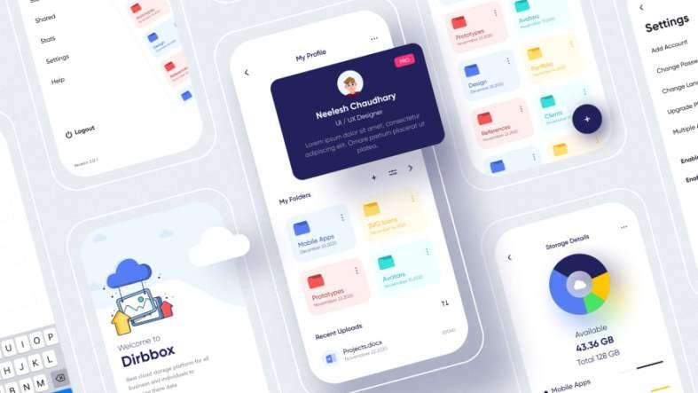 Cloud Storage App Free