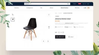 Jumbo Ecommerce Web Free for XD