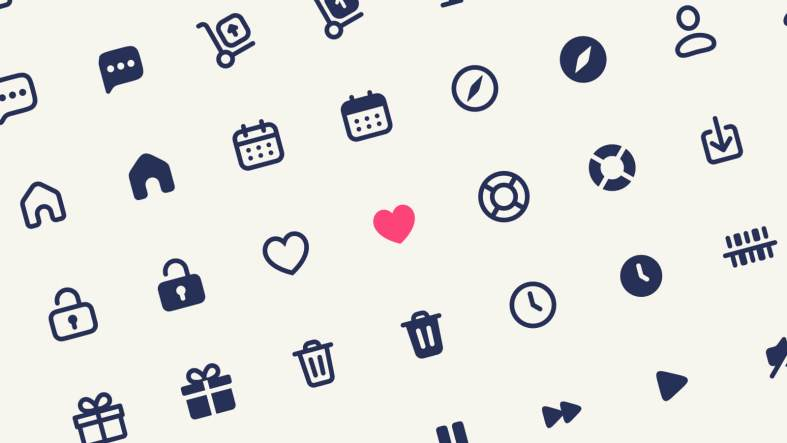 Library Free Icons Set