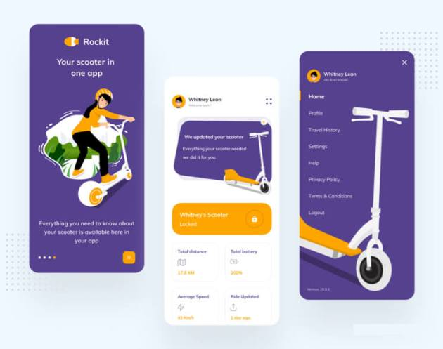Rockit Scooter App Free